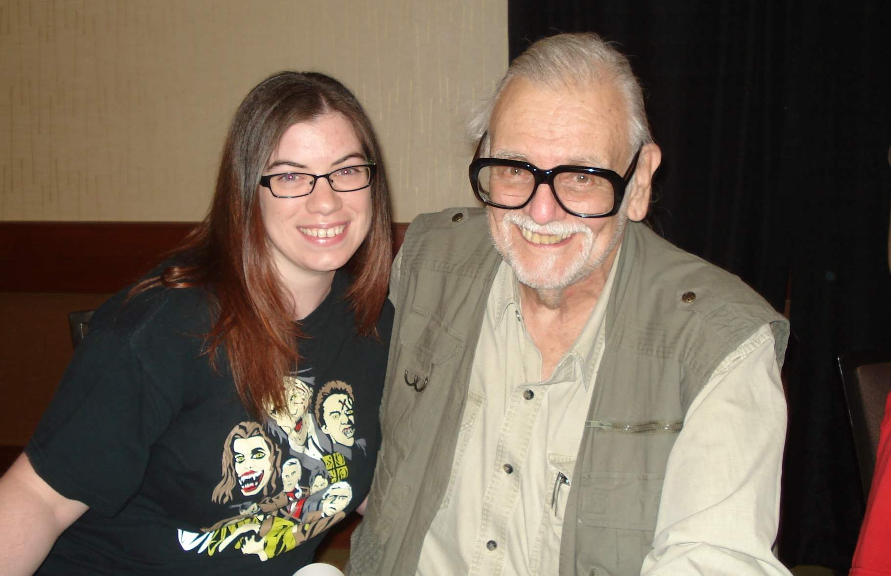 Fan picture with George Romero