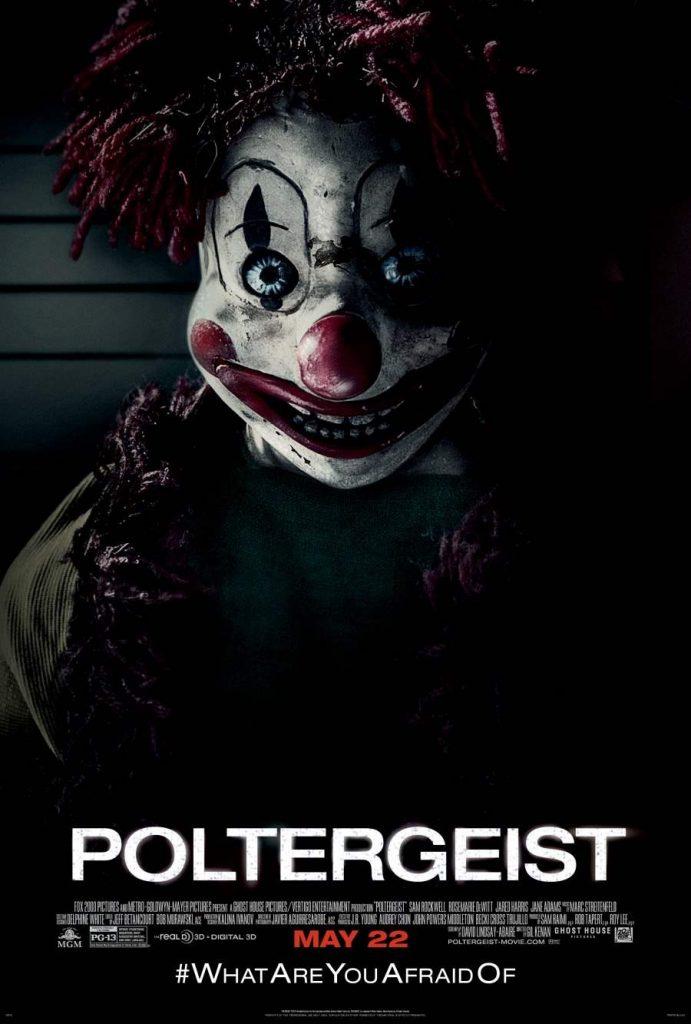 Poltergeist Creepy Clown Poster