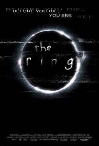 The Ring movie poster.
