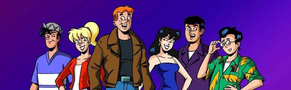 The Riverdale gang from Archie's Weird Mysteries