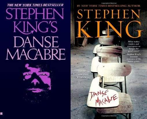 Cover images to Danse Macabre by Stephen King