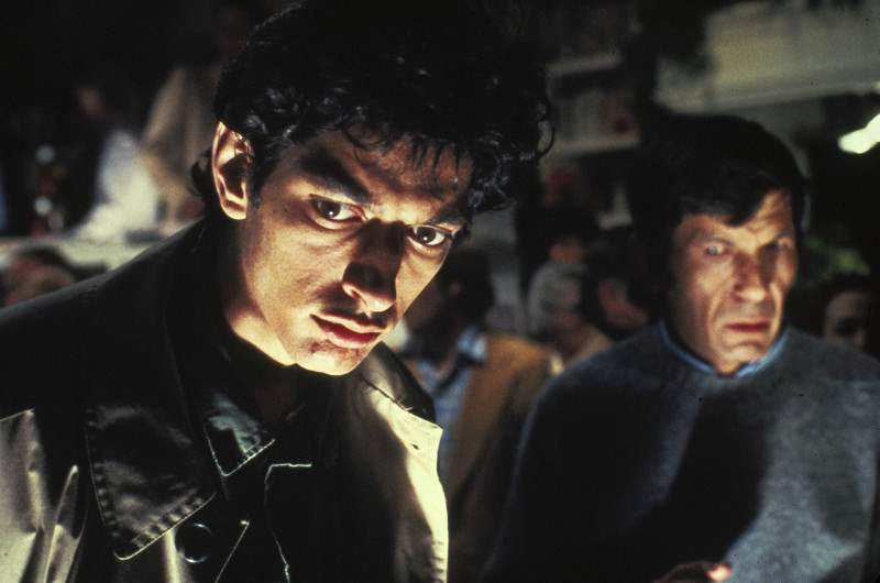 Invasion of the Body Snatchers starring Jeff Goldblum and the late Leonard Nimoy