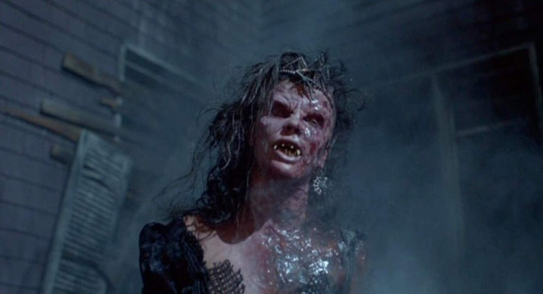 possessed Angela in Night of the Demons