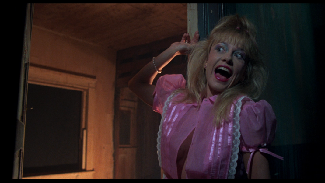 Linnea Quigley in Night of the Demons