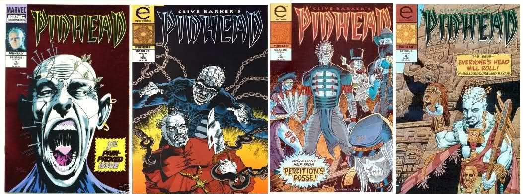 Pinhead comic book series