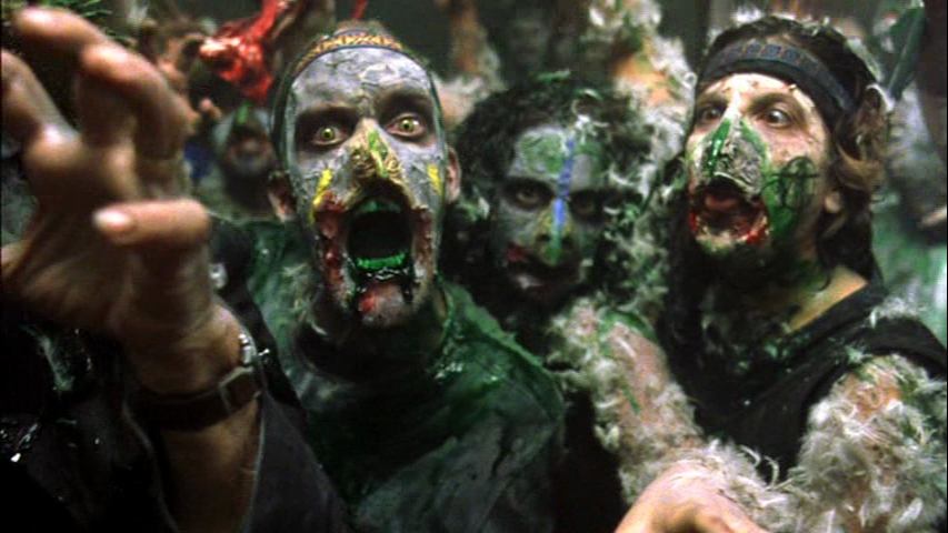 Poultrygeist's chicken possessed zombies