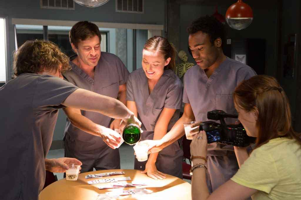 A team o scientists play God with life and make a serum able to bring the deceased back to life Directed by David Gelb.