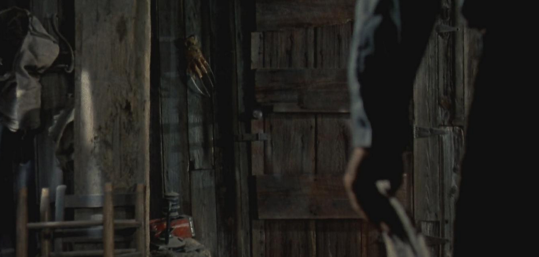 The Freddy Glove appears in Evil Dead 2