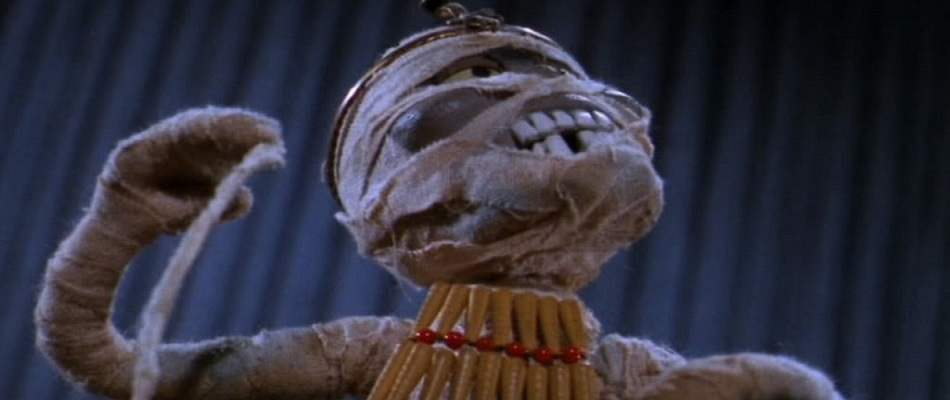 Stop motion mummy from 1967's animated Mad Monster Party.