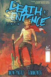 """The alternate cover for """"Death Sentence: London,"""" a post-apocalyptic sequel to """"Death Sentence"""""""