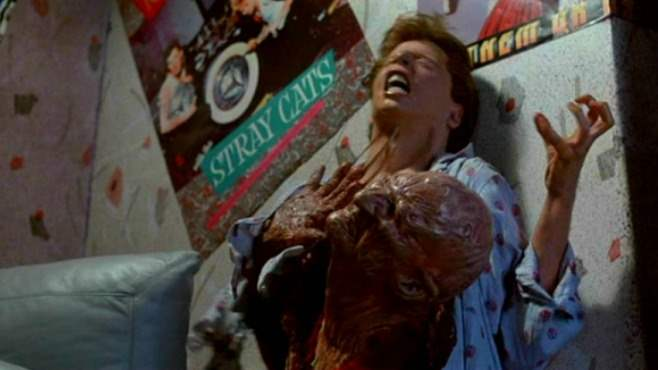 Jesse's transformation in Nightmare on Elm Street 2