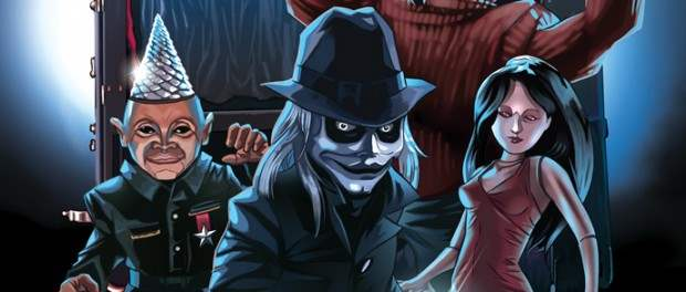 Puppet Master comic art