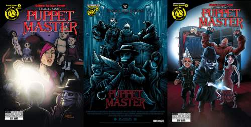 Puppet Master comic covers
