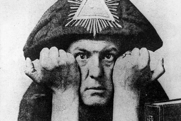 """Occultist Aleister Crowley, the so-called """"Wickedest Man Alive"""""""