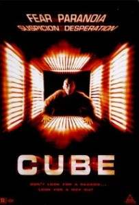 cube horror movie directed by Vincenzo Natali.
