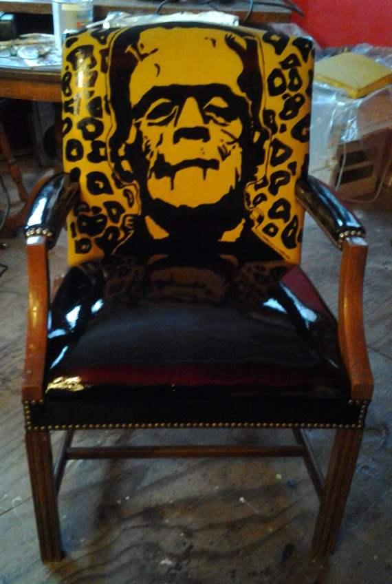 frankenstein home chair.