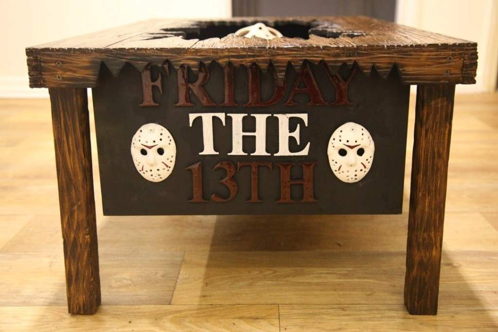 friday the 13th coffee table.
