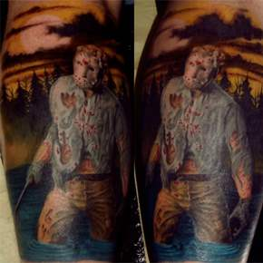 friday the 13th jason voorhees tattoo