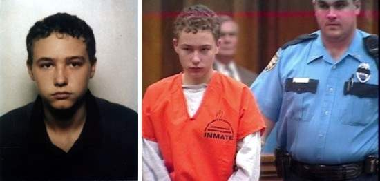 14-year-old Joshua Earl Phillips who was convicted of murdering an 8 year old girl.