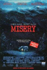 misery by stephen king.