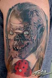 Tales of the crypt movie tattoo.