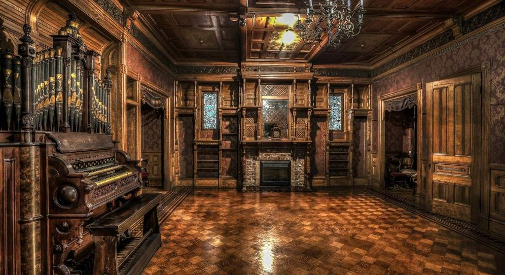 The mystery rooms of the famous Winchester house.