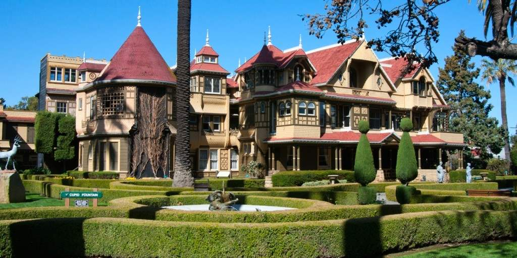 The Winchester House of Mystery.