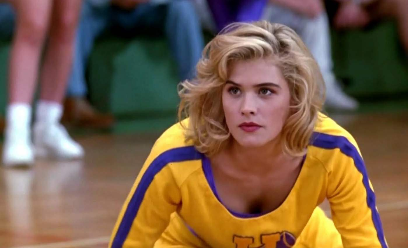 Kristy Swanson as Buffy Summers in the 1992 horror comedy film Buffy the Vampire Slayer.