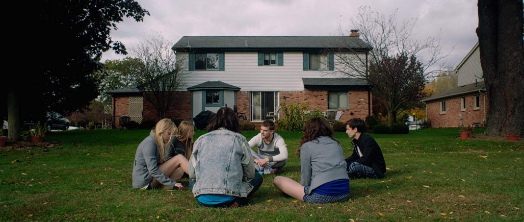 Keir Gilchrist and the Cast of It Follows