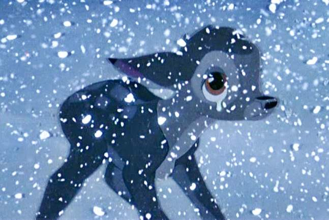 Bambi hears of his mother's death