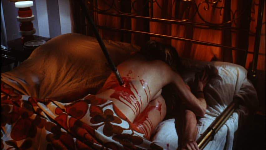 Bed scene in A Bay of Blood
