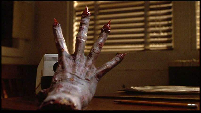 The severed hand in Idle Hands