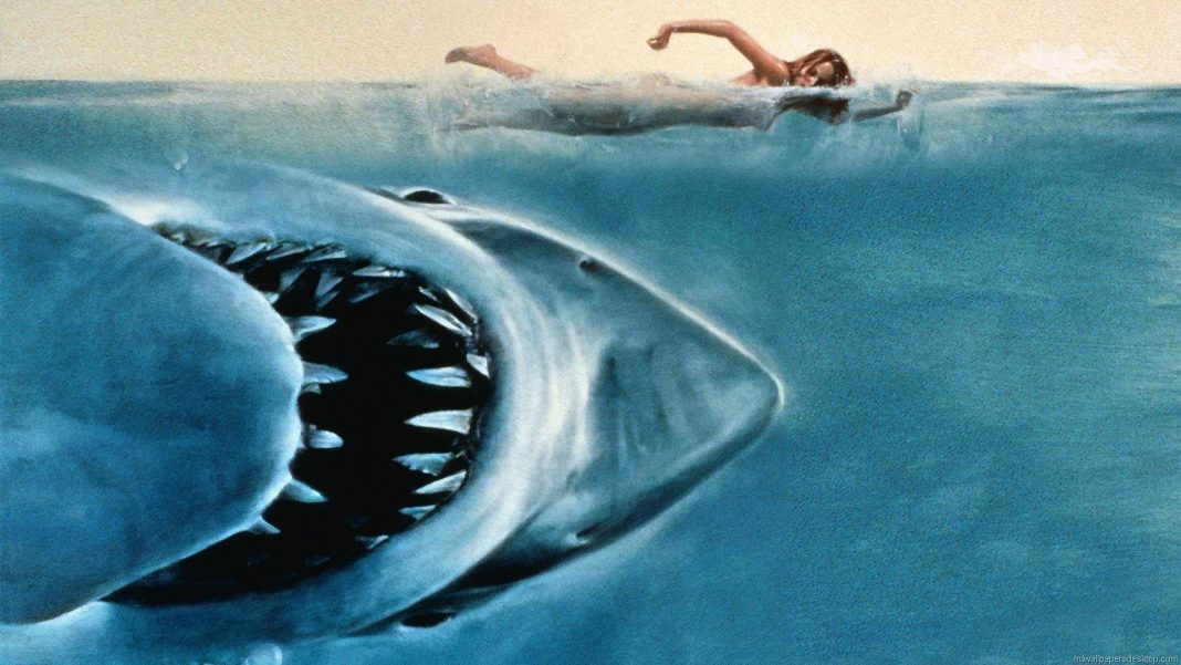 """Oceanic horror. You've probably never watched """"Jaws"""" while floating in an inner tube over murky water, right? The Alamo Drafthouse is making it easy to scare yourself silly with an outdoor screening of the movie at Texas Ski Ranch."""