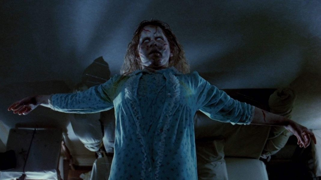 The infamous exorcism movie directed by William Friedkin and written by William Peter Blatty.