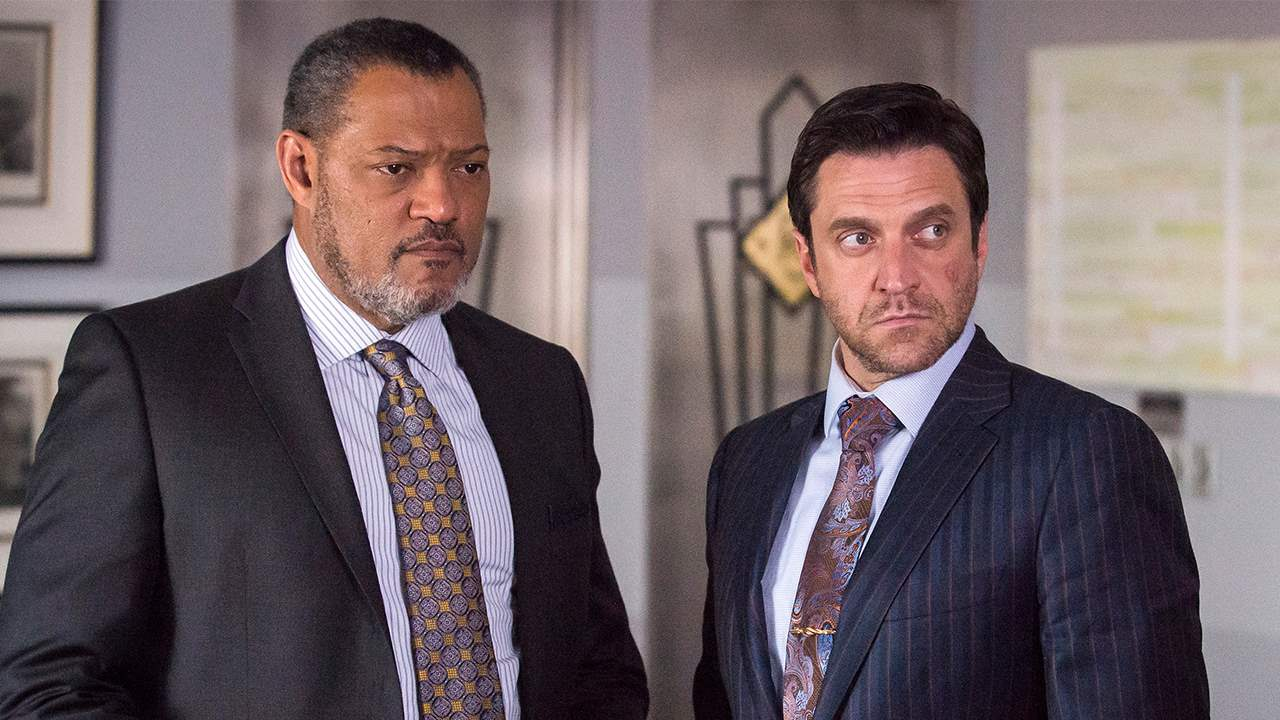 Jack Crawford and Frederick Chilton make a plan against the Red Dragon in episode 12 of season 3 of Hannibal.