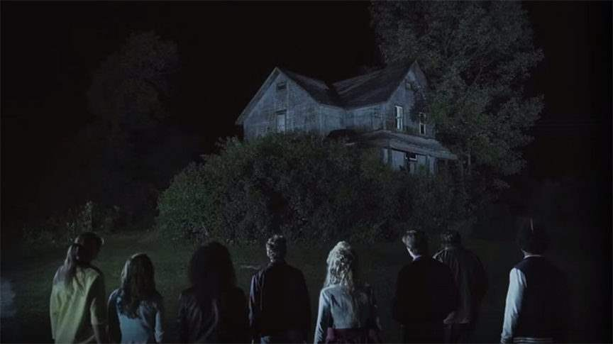 A group of teenagers runs afoul of a cannibalistic murder in Lost After Dark (2014)