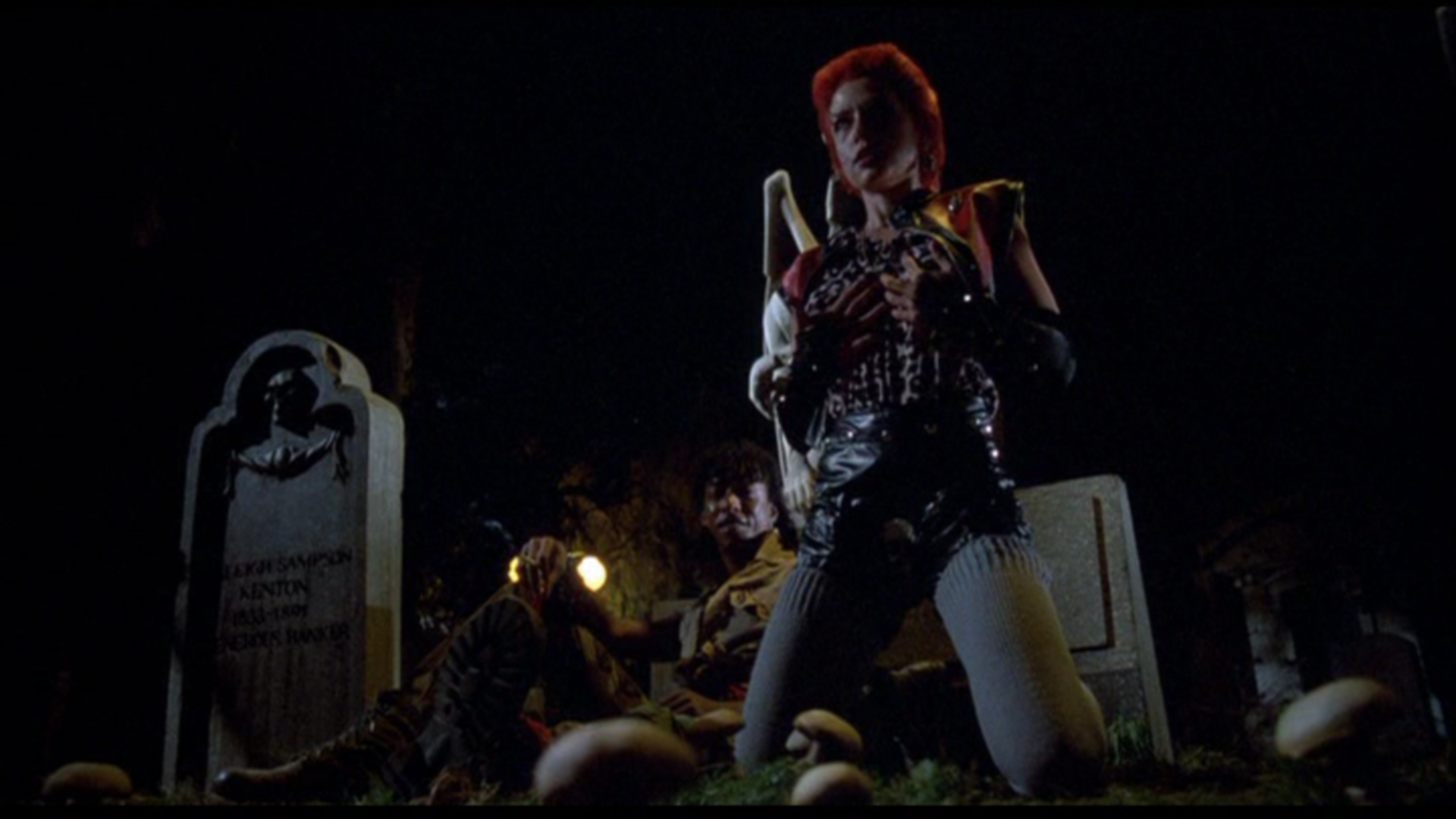 Linnea Quigley in The Return Of The Living Dead