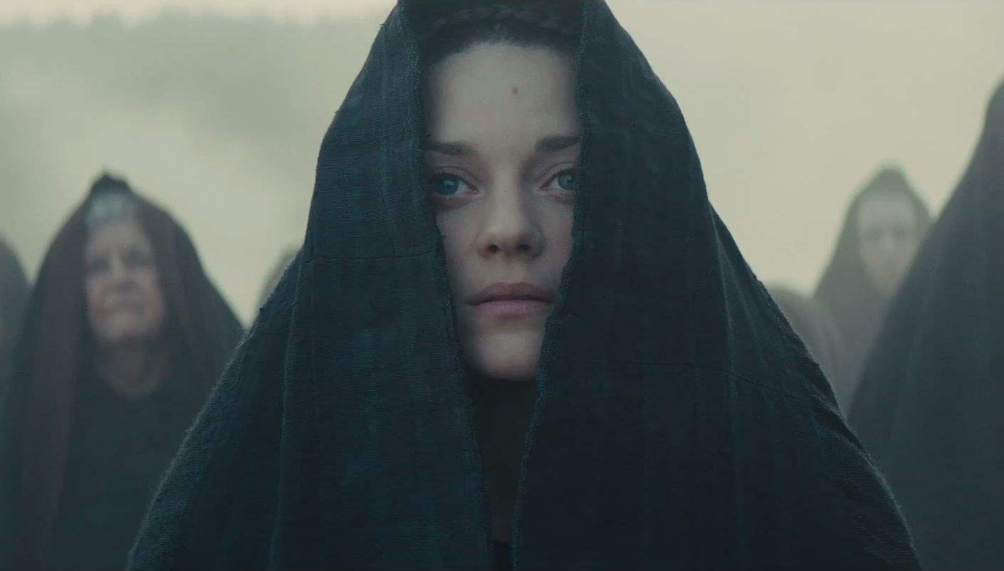 Marion Cotillard as Lady Macbeth