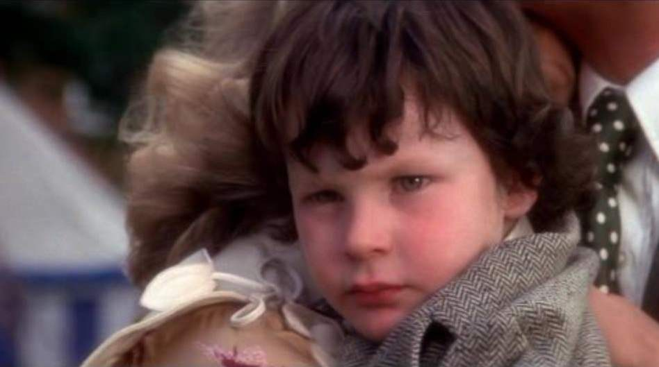 Little Damien is the unassuming son of the Devil in the classic film The Omen.