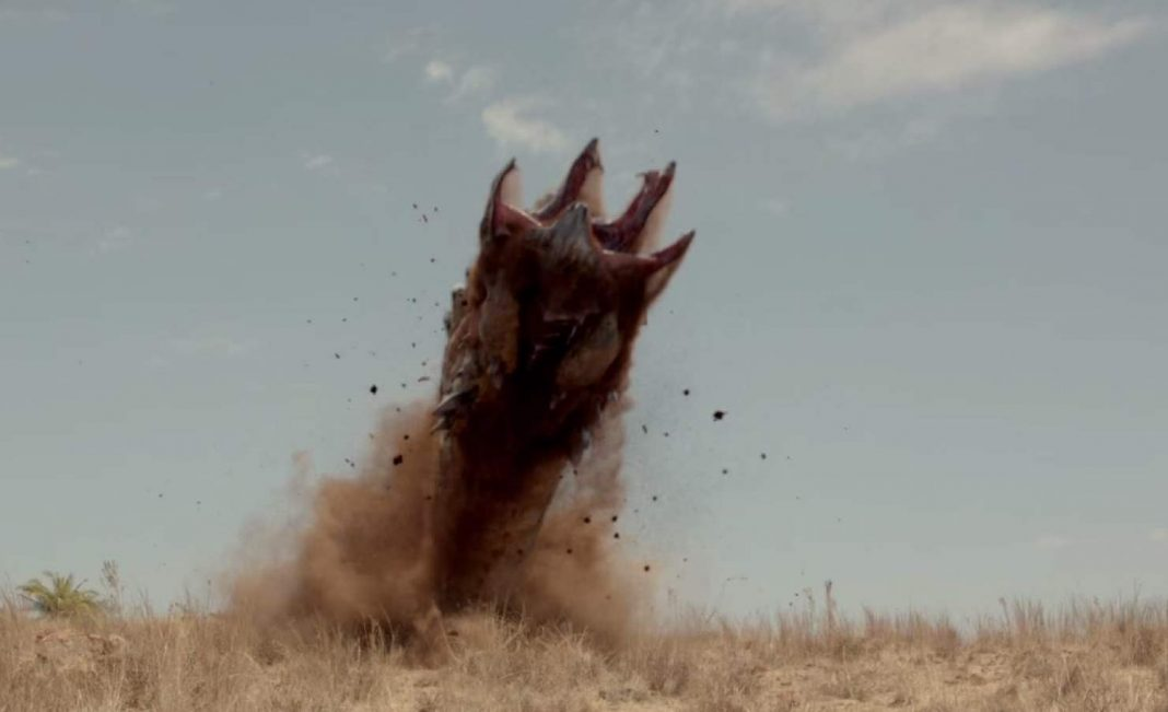 The new graboids in Tremors 5 now have the ability to leap out of the ground.