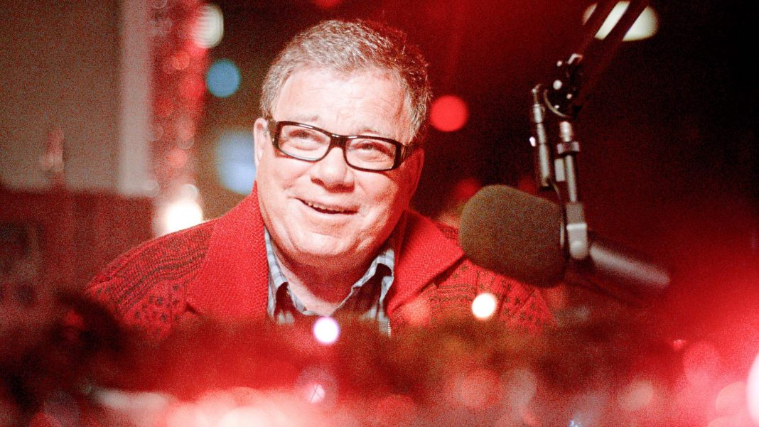 William Shatner in A Christmas Horror Story