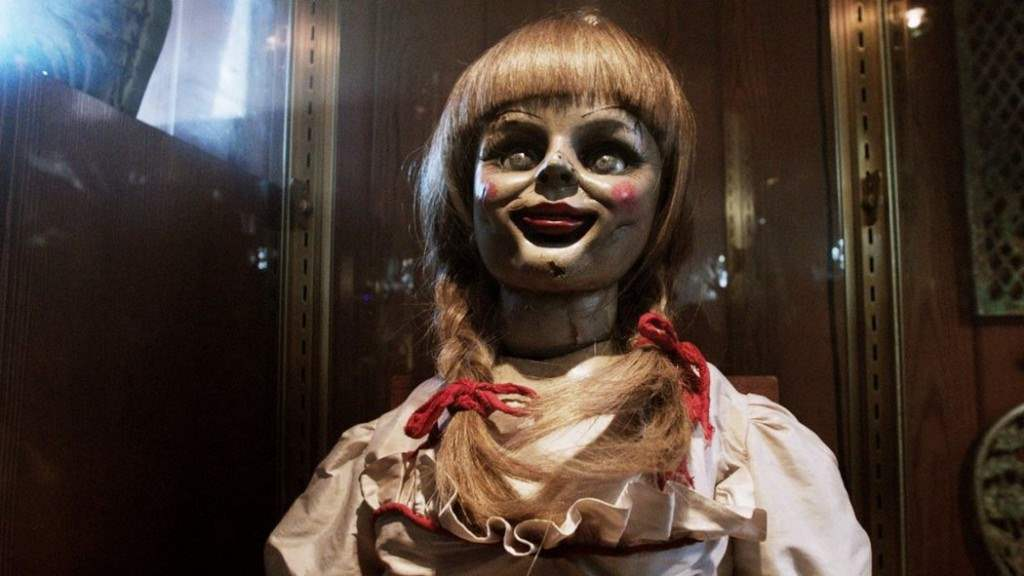 Annabelle the doll from The Conuring.