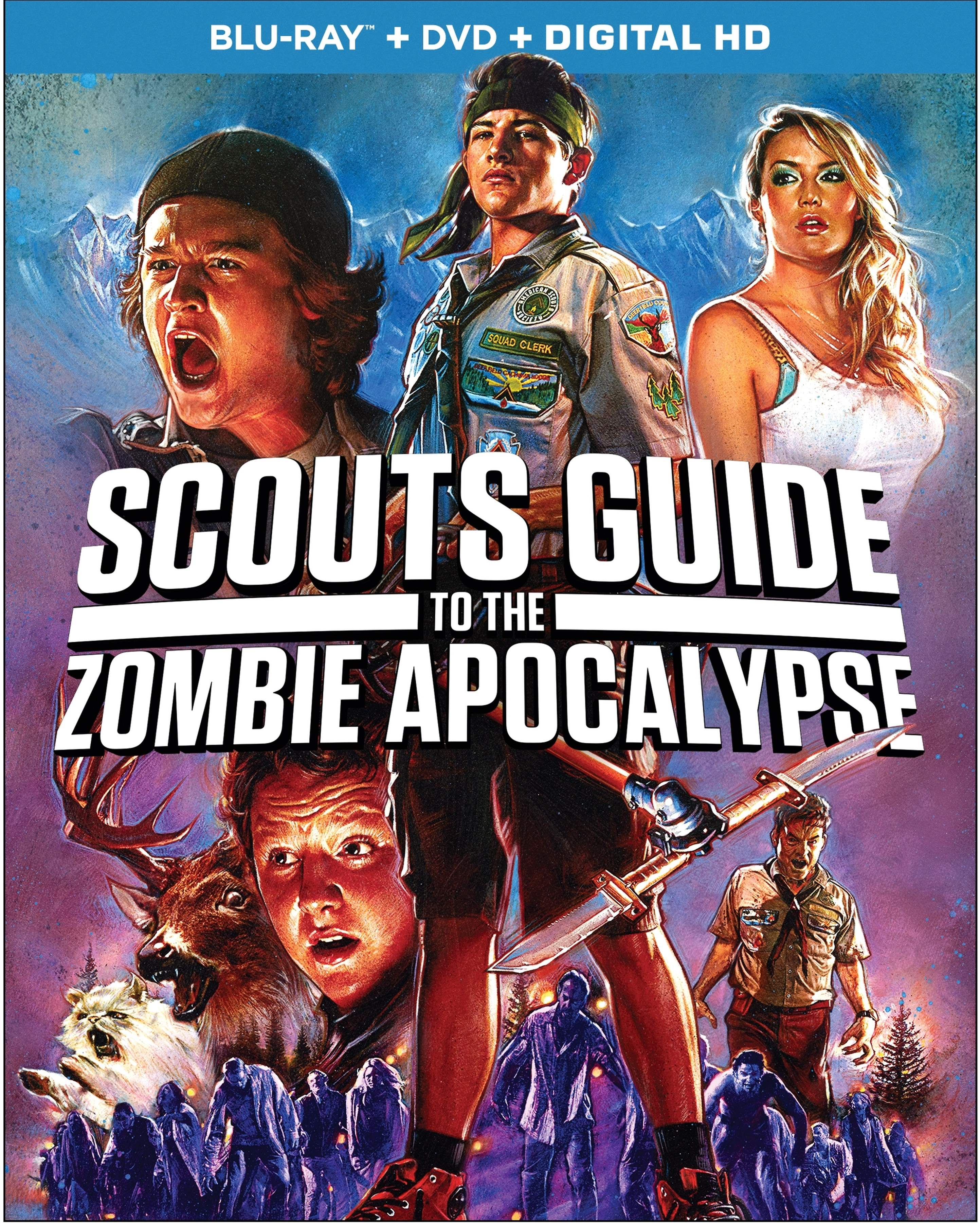 Blu-Ray cover for Scouts Guide to the Zombie Apocalypse