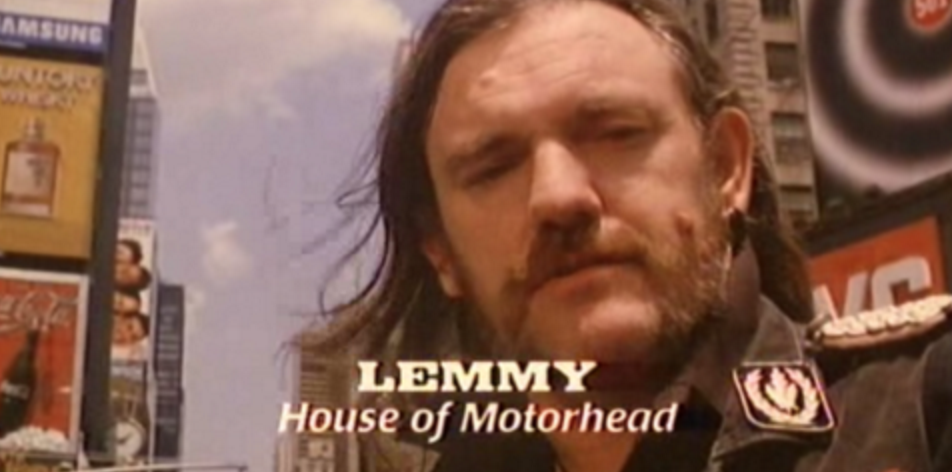 Lemmy in Tromeo and Juliet