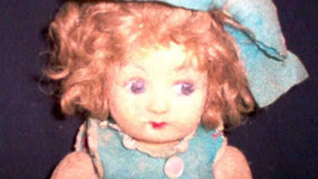 Pupa the haunted doll.