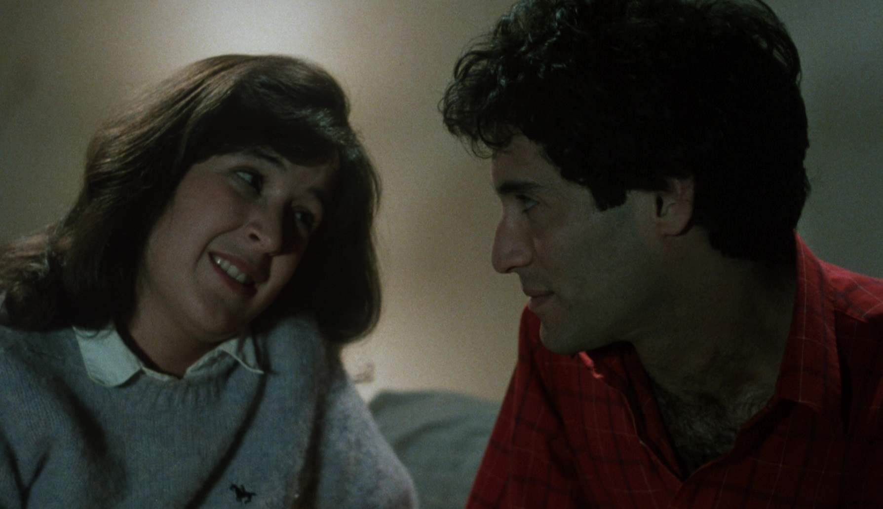 Actors Ruth Martinez as Pam and Matt Mitler as Ed in The Mutilator