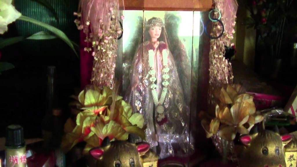 The worshipped Barbie doll.