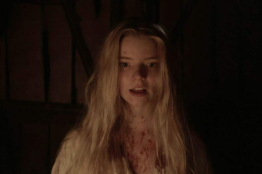 Anya Taylor Joy bloody in The Witch
