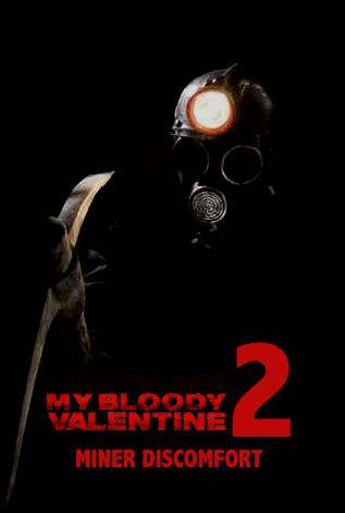 My Bloody Valentine 2 exclusive premiere poster
