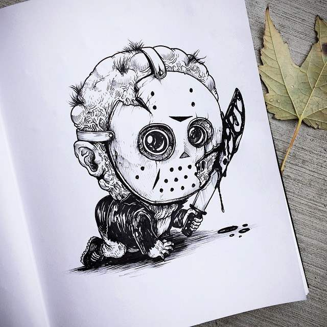 Horror Babies series by Alex Solis.